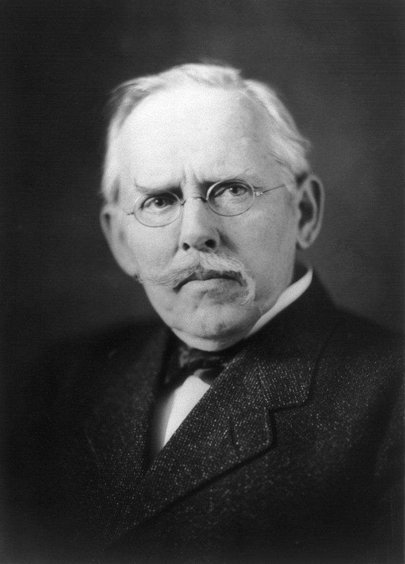 Portrait of Jacob Riis